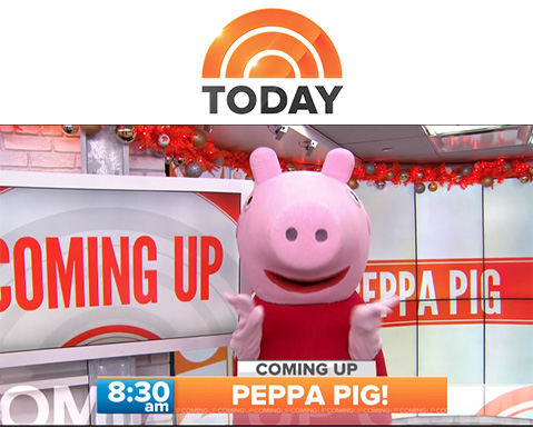 Featured_Coverage Today Show Peppa Pig